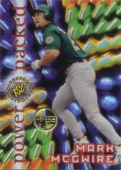 1996 Stadium Club Members Only Parallel #PP2 Mark McGwire