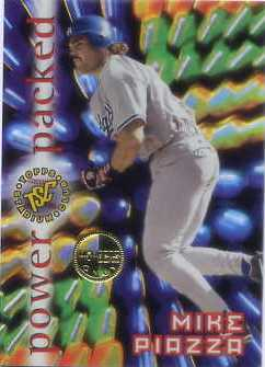 1996 Stadium Club Members Only Parallel #PP4 Mike Piazza