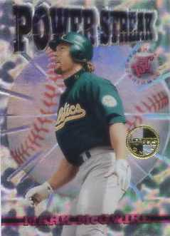 1996 Stadium Club Members Only Parallel #PS7 Mark McGwire