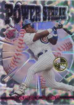 1996 Stadium Club Members Only Parallel #PS10 Sammy Sosa