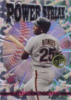 1996 Stadium Club Members Only Parallel #PS14 Barry Bonds