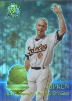 1996 Stadium Club Members Only Parallel #TSCA1 Cal Ripken