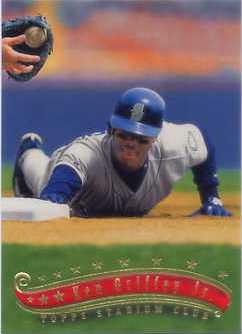 1997 Stadium Club Members Only Parallel #50 Ken Griffey Jr.