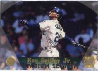 1997 Stadium Club Members Only Parallel #385 Ken Griffey Jr. SS