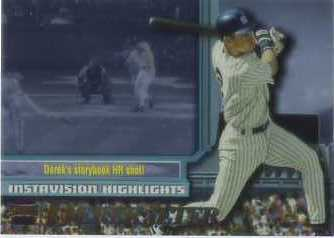 1997 Stadium Club Members Only Parallel #I17 Derek Jeter