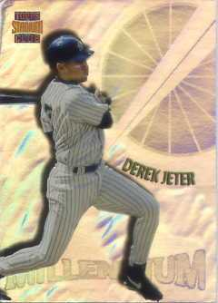 1997 Stadium Club Members Only Parallel #M1 Derek Jeter