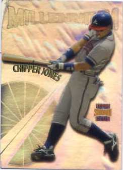 1997 Stadium Club Members Only Parallel #M6 Chipper Jones