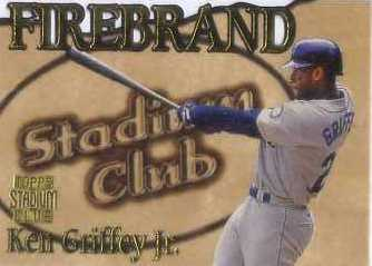 1997 Stadium Club Members Only Parallel #FB5 Ken Griffey Jr.