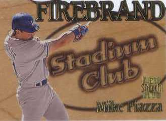 1997 Stadium Club Members Only Parallel #FB10 Mike Piazza