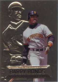 1997 Stadium Club Members Only Parallel #PG4 Barry Bonds