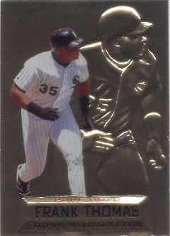 1997 Stadium Club Members Only Parallel #PG10 Frank Thomas