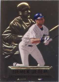 1997 Stadium Club Members Only Parallel #PG19 Derek Jeter