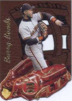 1997 Stadium Club Members Only Parallel #PL3 Barry Bonds