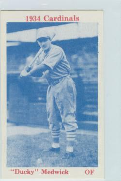 1974 Cardinals 1934 TCMA #18 Joe Medwick