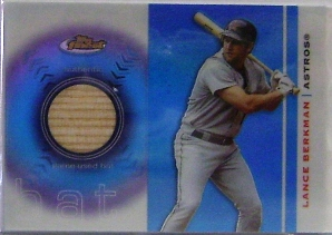 2003 Finest Bat Relics #LB Lance Berkman C