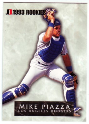 1993 Jimmy Dean Rookies #8 Mike Piazza