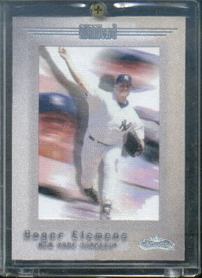 2001 Fleer Showcase Legacy #113 Roger Clemens AC