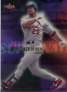 2000 Fleer Mystique Supernaturals #S6 Mark McGwire