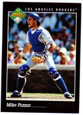 1993 Pinnacle #252 Mike Piazza