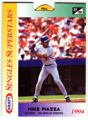 1994 Kraft #27 Mike Piazza