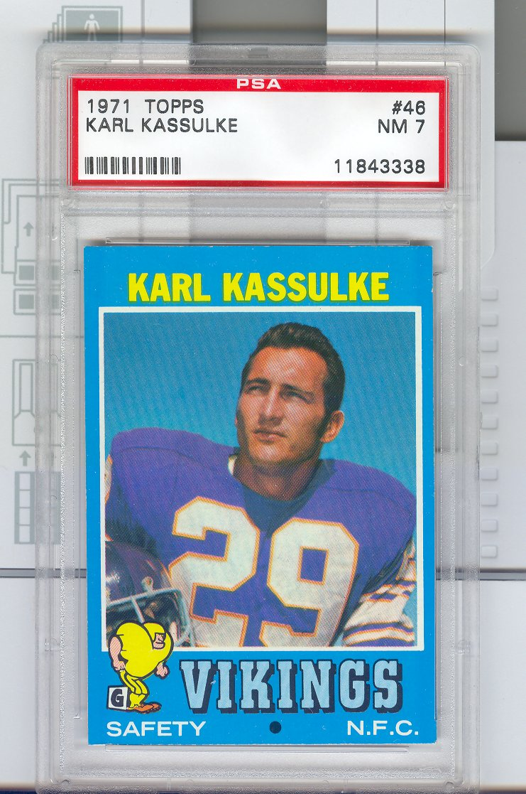 1971 Topps #46 Karl Kassulke RC