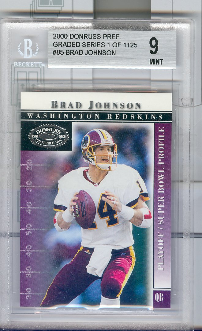 2000 Donruss Preferred #85 Brad Johnson PS