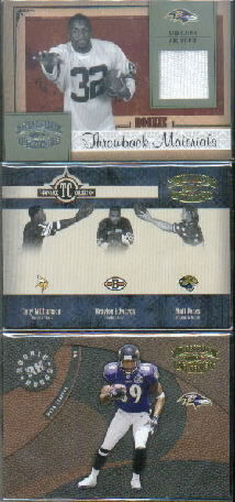 2005 Throwback Threads #217 Mark Clayton JSY RC