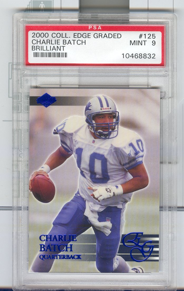 2000 Collector's Edge EG Brilliant #125 Charlie Batch
