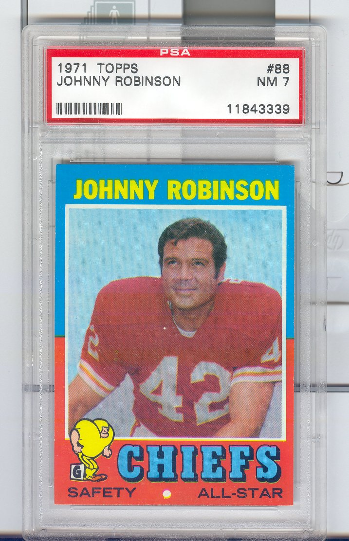 1971 Topps #88 Johnny Robinson
