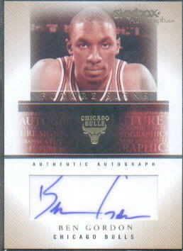 2004-05 SkyBox Autographics Future Signs Autographs 50 #BG Ben Gordon