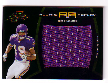 2005 Absolute Memorabilia Rookie Reflex Oversized Jersey #19 Troy Williamson