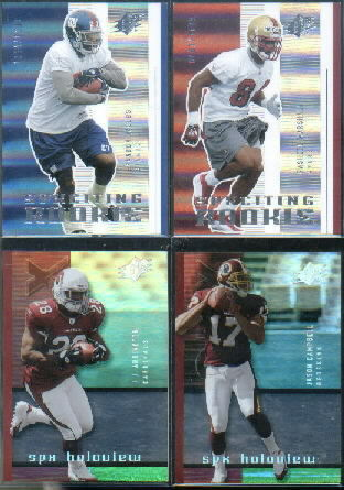 2005 SPx #112 Rasheed Marshall RC