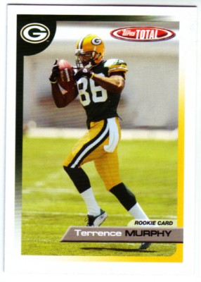 2005 Topps Total #479 Terrence Murphy RC