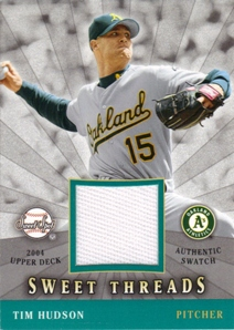 2004 Sweet Spot Sweet Threads #TH Tim Hudson