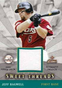 2004 Sweet Spot Sweet Threads #JB Jeff Bagwell