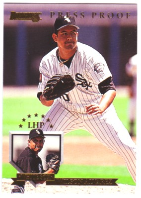 1995 Donruss Press Proofs #57 Wilson Alvarez