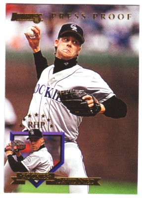 1995 Donruss Press Proofs #120 David Nied