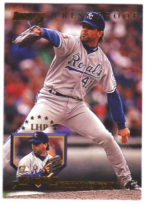 1995 Donruss Press Proofs #141 Billy Brewer