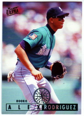 1995 Ultra #331 Alex Rodriguez