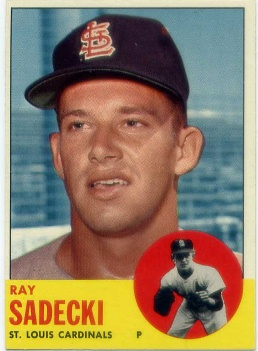 1963 Topps #486 Ray Sadecki
