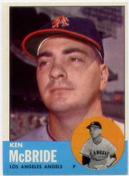 1963 Topps #510 Ken McBride