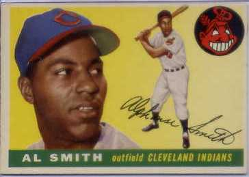 1955 Topps #197 Al Smith