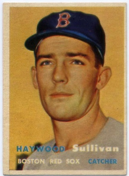 1957 Topps #336 Haywood Sullivan RC