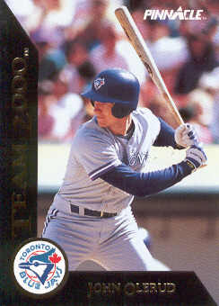 1992 Pinnacle Team 2000 #65 John Olerud