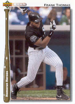 1992 Upper Deck Home Run Heroes #HR8 Frank Thomas