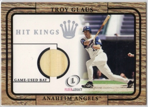 2001 Fleer Legacy Hit Kings #12 Troy Glaus