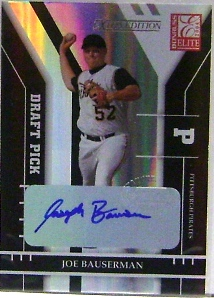 2004 Donruss Elite Extra Edition #351 Joe Bauserman AU/472 RC