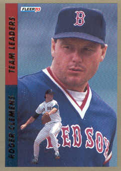 1993 Fleer Team Leaders #AL4 Roger Clemens
