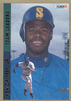 1993 Fleer Team Leaders #AL10 Ken Griffey Jr.