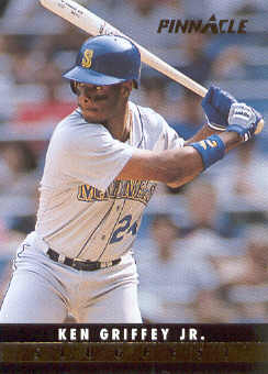 1993 Pinnacle Slugfest #28 Ken Griffey Jr.